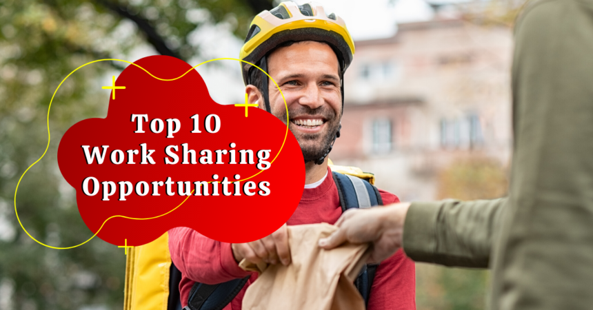 top 10 work sharing job opportunities