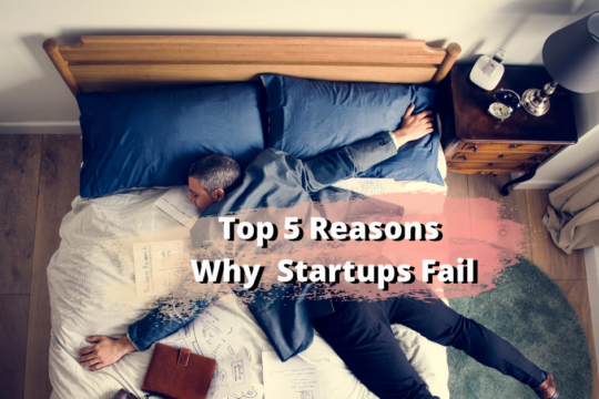 top 5 reasons why startups fail