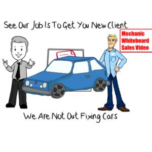 Mechanic Whiteboard Sales Video Demo