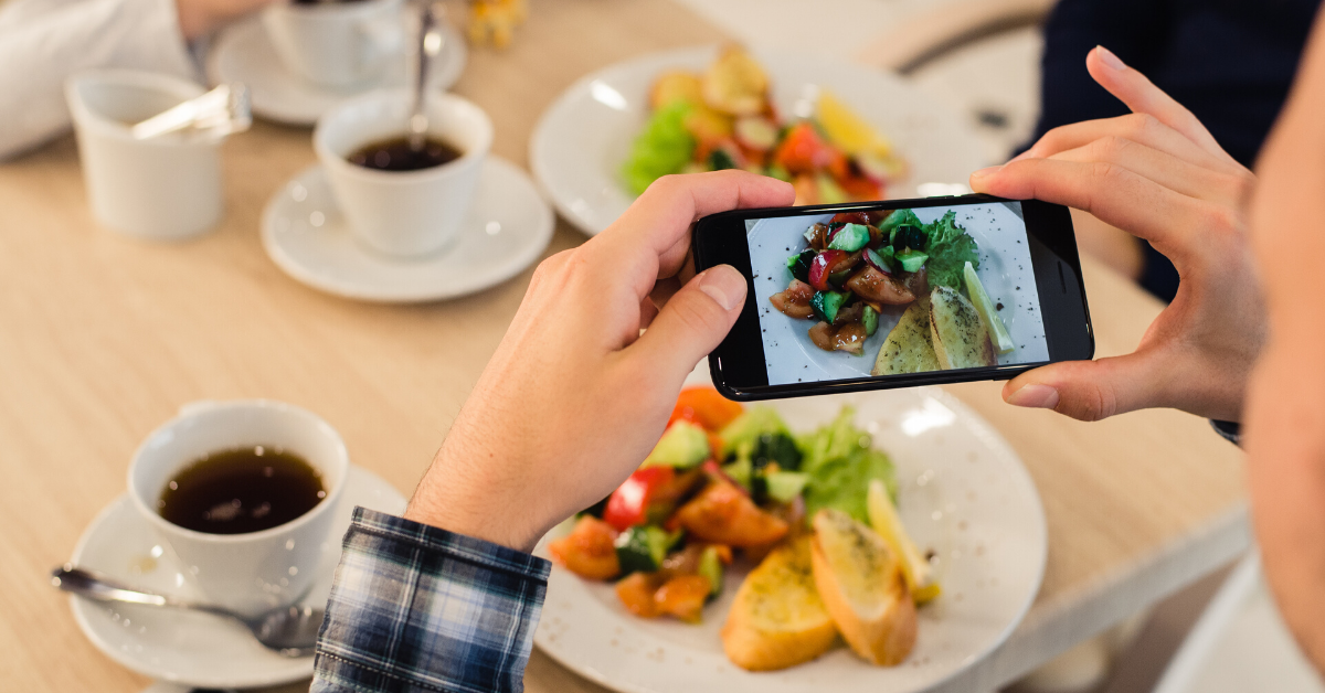 benefits of video marketing food product review