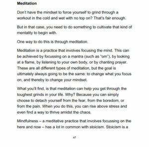 Bulletproof Motivation E-book