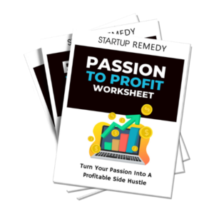 Passion to Profit Worksheet