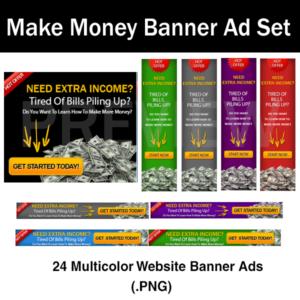 make money banner ad set